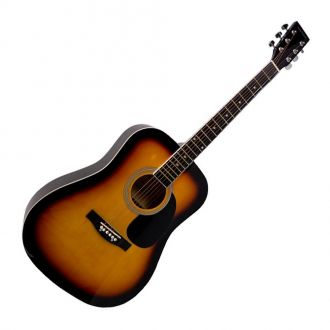 J.J. 801 Sunburst Acoustic Guitar