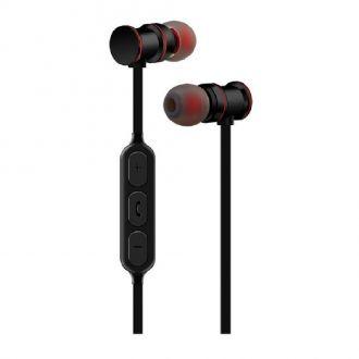Ακουστικά Bluetooth AVLINK EMBT1-BLK Metallic Magnetic Black