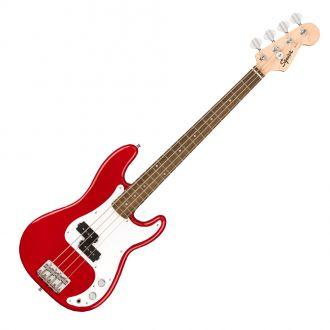 Squier Mini Precision Bass LRL Dakota Red Electric Bass