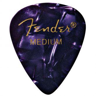 Fender Premium Celluloid 351 Shape Picks Medium Purple Moto