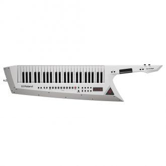 Roland AX-Edge Keytar 49 Keys Shoulder Worn White Synthesizer