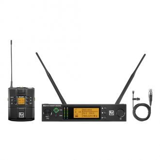 Electro-Voice RE3-BPOL-5H Wireless System for Lavalier Microphone with Receiver and Bodypack Transmitter with Lavalier Microphone