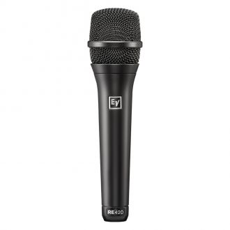 Electro-Voice RE420 Cardioid Condenser Microphone for Vocals and Instruments