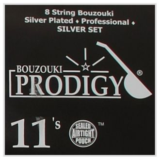 PRODIGY Silver 11s Xορδές 4χορδου Μπουζουκιού