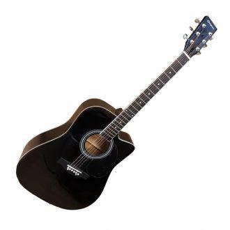 J.J Cherry Stone 801C Cutaway Black Ακουστική Κιθάρα
